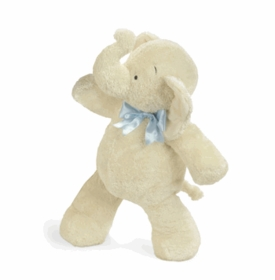 "25"" smushy elephant with blue bow by north american bear"