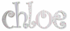 """8"""" hand painted wooden letters-curlz chloe"""