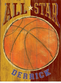 all star vintage sign