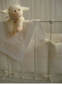 angel crib bedding set