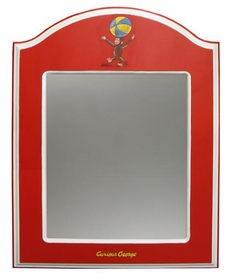 arched mirror (curious george)