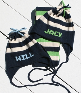 personalized hats, scarves & mittens