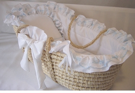 baby luxe moses basket