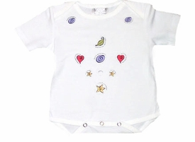 baby massage snuggie - summer short sleeve by touch of love