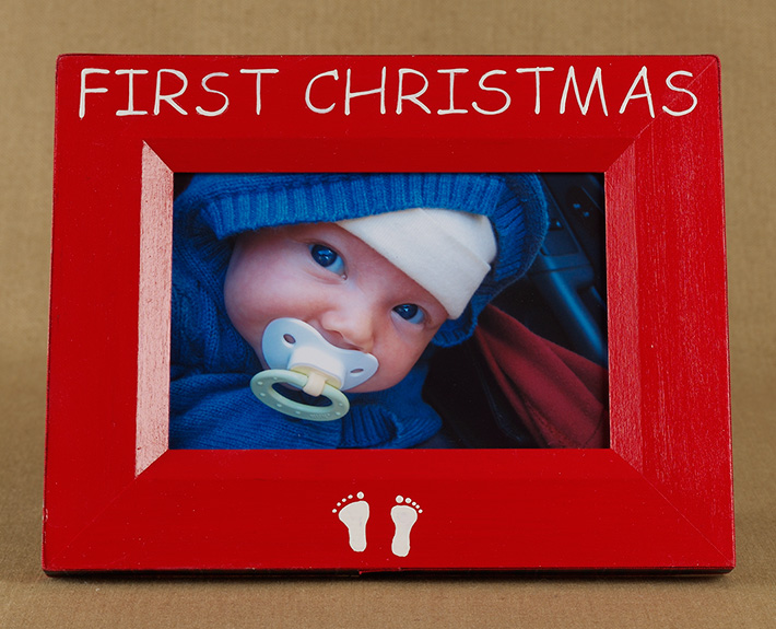 Baby S First Christmas Photo Frame
