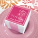 baby shower favor white mini cube boxes (set of 12)