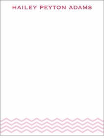 baby waves pink children's stationary