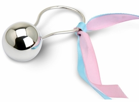 ball sterling silver baby rattle