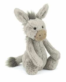 bashful donkey - 12inch by jelly cat