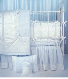 blauen crib bedding