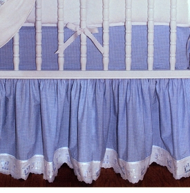 blauen custom crib skirt