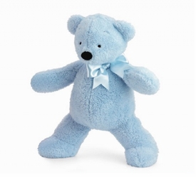 blue smushy bear by north american bear - many sizes