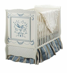 bluebird french panel crib