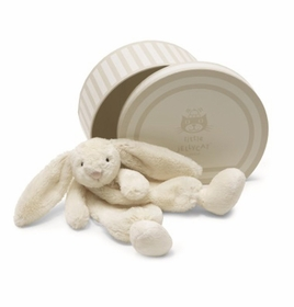 boubou cream bunny soother by jelly cat