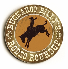 buckaroo vintage sign