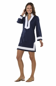 call me classic navy dress