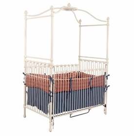 canopy crib with small acorn finial 41324