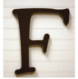 """capital wooden letter - """"f"""""""