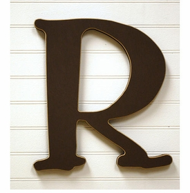 """capital wooden letter - """"r"""""""