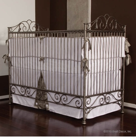 casablanca crib (pewter)