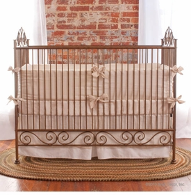 casablanca iron crib (gold)