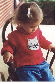 cat cotton sweater