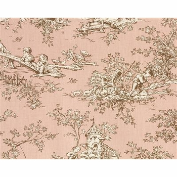 central park/pink fabric