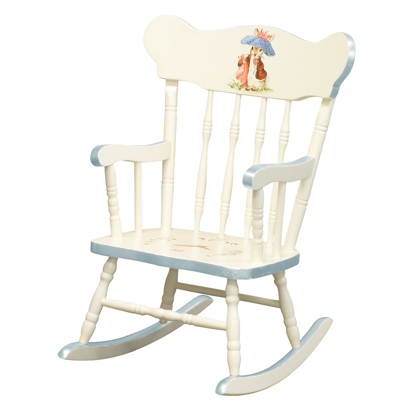 Childs Rocking Chair Antico White Classic Enchanted Forest