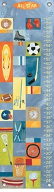 children's growth chart all-star boy sports
