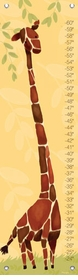 children's growth chart - gillespie giraffe
