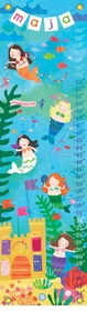 children's growth chart - mermaid performance
