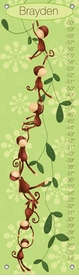 children's growth chart- monkeying around