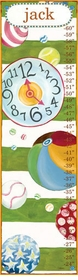 children's growth chart  - motion