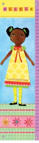 children's growth chart - my doll 1
