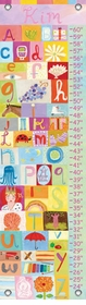 children's growth chart - my name is...girl