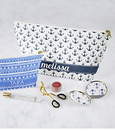 clairebella personalized makeup bags