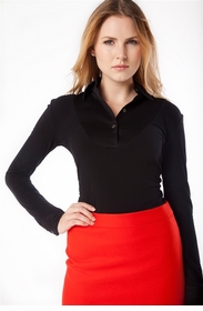 classic black long sleeved shirt
