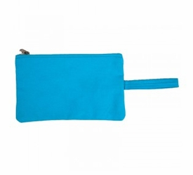clutch bag - turquoise