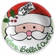 cookie time santa plate