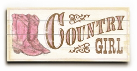 country girl ll vintage sign