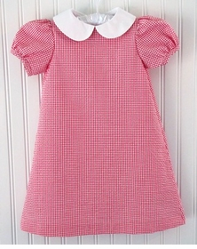 CPC Designs pink gingham paige dress