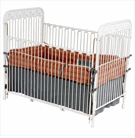 crib with bow accents 40716