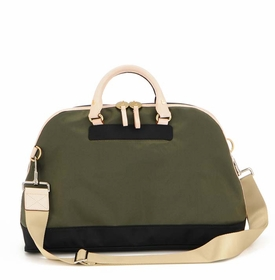 danzo baby retro bag - olive with black