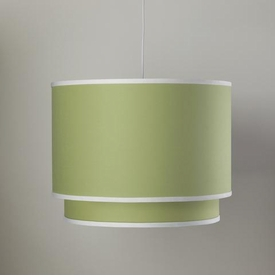 double cylinder light - spring green