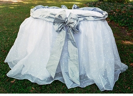 east hampton bassinet linens