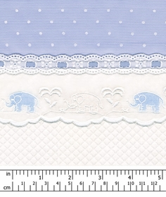 embroidered elephant crib bedding