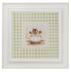 enchanted forest print (green mouse)