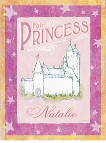 fair princess vintage sign