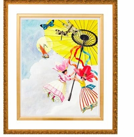 fine art parasol in the air - unavailable