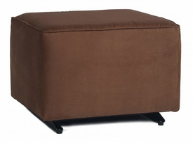 glider ottoman without skirt<br> (designed with your choice of 150+ Different Fabric Options)